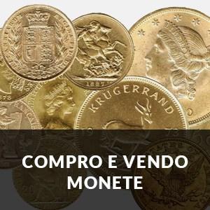 VENDO E COMPRO MONETE ORO